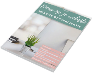 Website optimalisatie e-book Focus op je website